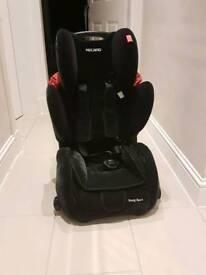 recaro child car seat