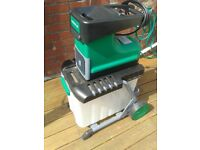 garden shredder excellent condition,