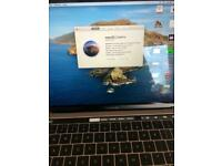 Macbook with touch ID in very good condition