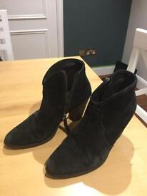 Jigsaw suede ankle boots