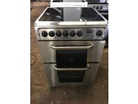 Hotpoint ARC60X 60cm Double Electric Cooker in Stainless Steel #3564