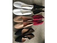Brand new flat shoes sizes 6/7 £5 each