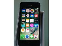 IPHONE 5s 16gb BLACK FULLY WORKING ORDER VERY GOOD CONDITION SCREEN SIDES ALL GOOD MAYBE UNLOCKED
