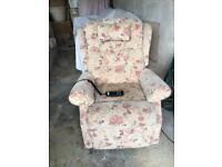 Reclining Armchair With Lift And Tilt. As New. Can Deliver Locally Free.
