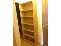 Bookcase / Bookshelf wood great condition!
