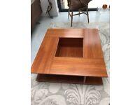 Habitat modern, wooden coffee table