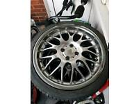 17in 4x100 alloy vw renault other cars