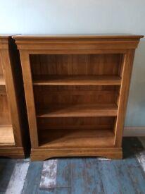 2 Oak Furniture Land Bookcases