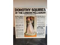 Dorothy Squires signed LP and signed Programme
