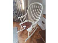 Laura Ashley, Bramley Cream, Rocking Chair