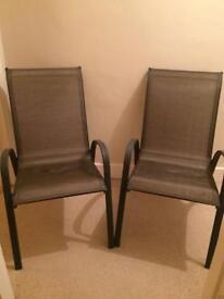 Brand new garden chairs (x2)