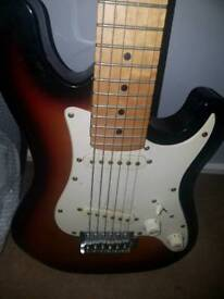 3/4 size electric guitar