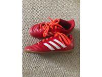 Adidas kids football boots size 12