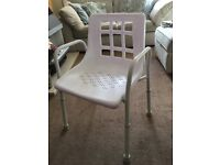 NRS Height Adjustable Shower Chair