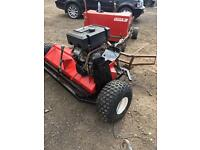 Logic flail mower for quad bike tow behind