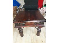Thakat Indian Rosewood Coffee/Side tables X 3
