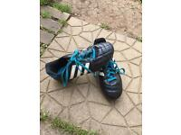 Size 1 Adidas football boots
