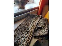 Karen Millen animal fur style trousers