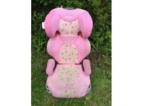 Graco Child Car Seat 15-36kg - pretty pink flower design