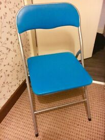 Turquoise office desk chair £5
