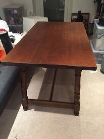 Wooden (probably Oak) Table