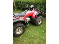 Honda trx 450 quad bike for sale