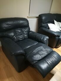 Lazy Boy Chair + Couch Recliner super comfy