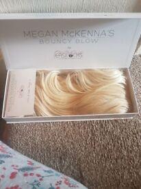 Megan McKenna bouncy blow hair extensions £30