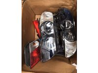 BMW 3 SERIES E46 HEADLIGHTS CPL AND REAR LAMPS
