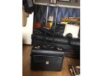 Trollied briefcase