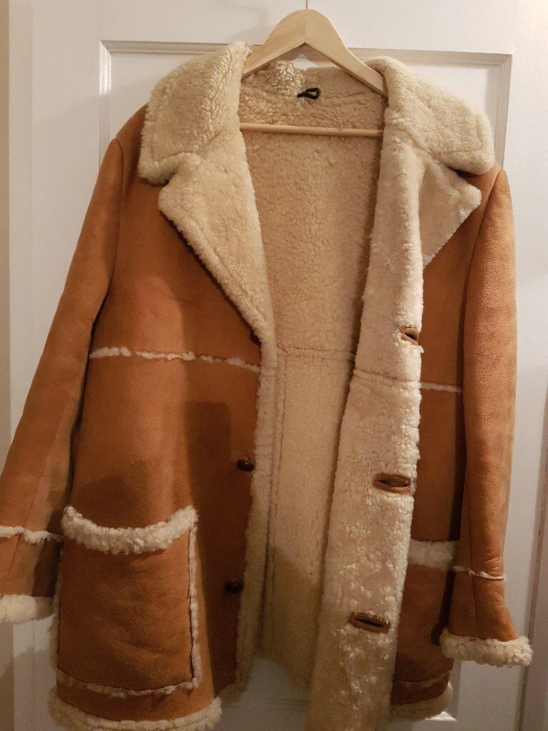 Sheepskin coat mens used in good condition | in Southampton