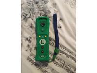 Nintendo wii U Luigi limited edition remote controller