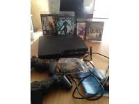PS3 120 GB with 4 games and 2 joypads