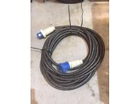 1 x 25mtr 63amp single phase extension leads