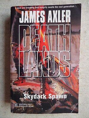 DEATHLANDS Skydark Spawn James Axler 1st 2003 Geat Cover Art L@@K WOW!!!