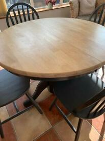 LAURA Ashley style table and chairs as new