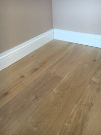 Super sale on 190x20/6mm white oak engineered rustic unfinished