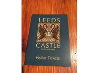 Leeds Castle - Two adults tickets