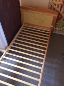 Me to you tiny tatty teddy toddler bed / cot