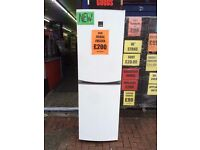 ZANUSSI WHITE FRIDGE FREEZER NEW GRADED