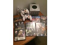 Silver GameCube Nintendo and games
