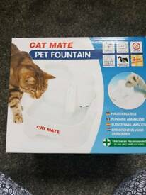 Pet mate fountain for cats/dogs