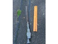 Stihl hedge cutter trimmer attachment for combi or straight shaft