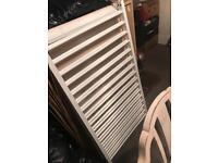 White IKEA cot