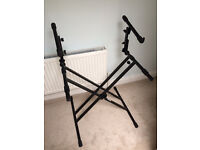 Double Keyboard Stand