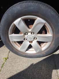 kia caren alloy wheels for sale