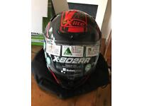 X-lite x802RR are marquetry red ultra carbon size L helmet