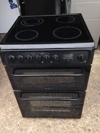 £131.76 Hotpoint Creda Black ceramic electric cooker+60cm+3 months warranty for £131,76 £