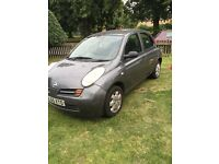 Nissan micra 55 plate (2006)