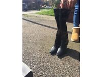 Next wedge boots size 3